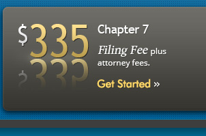 $306 to file for Chapter 7